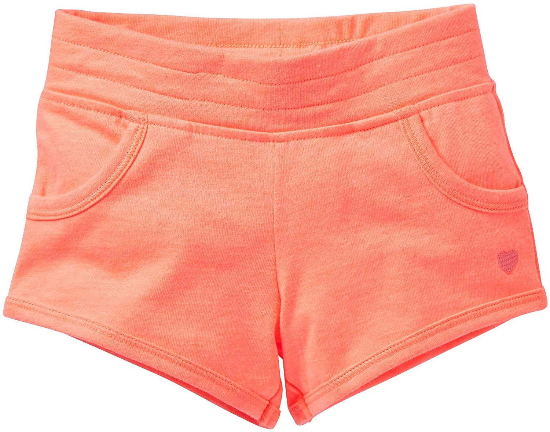 Carter's Knit Shorts (Toddler/Kids) - Peach-6