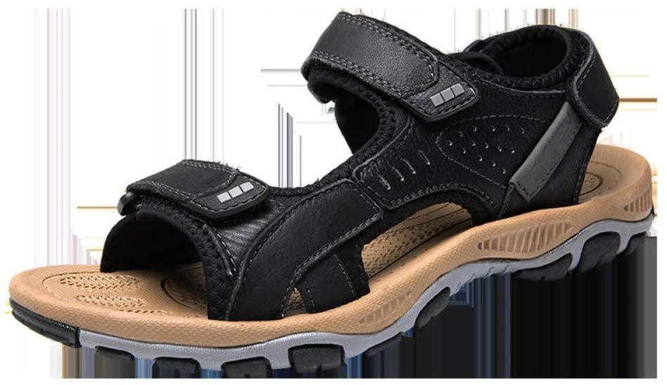 Men's Sandals Beach Shoes Leisure air Cushion sandals-7260 Black_44