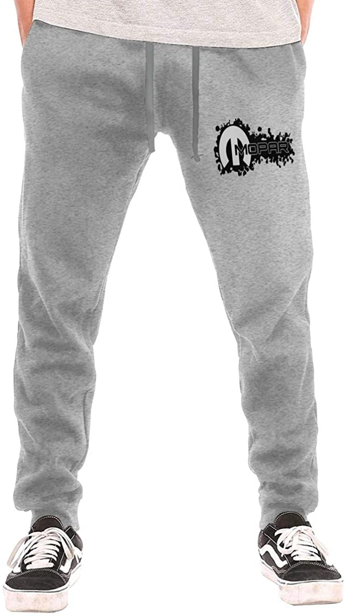 Men's Sweatpants Mo-par Athletic Jogger Long Pants Gray