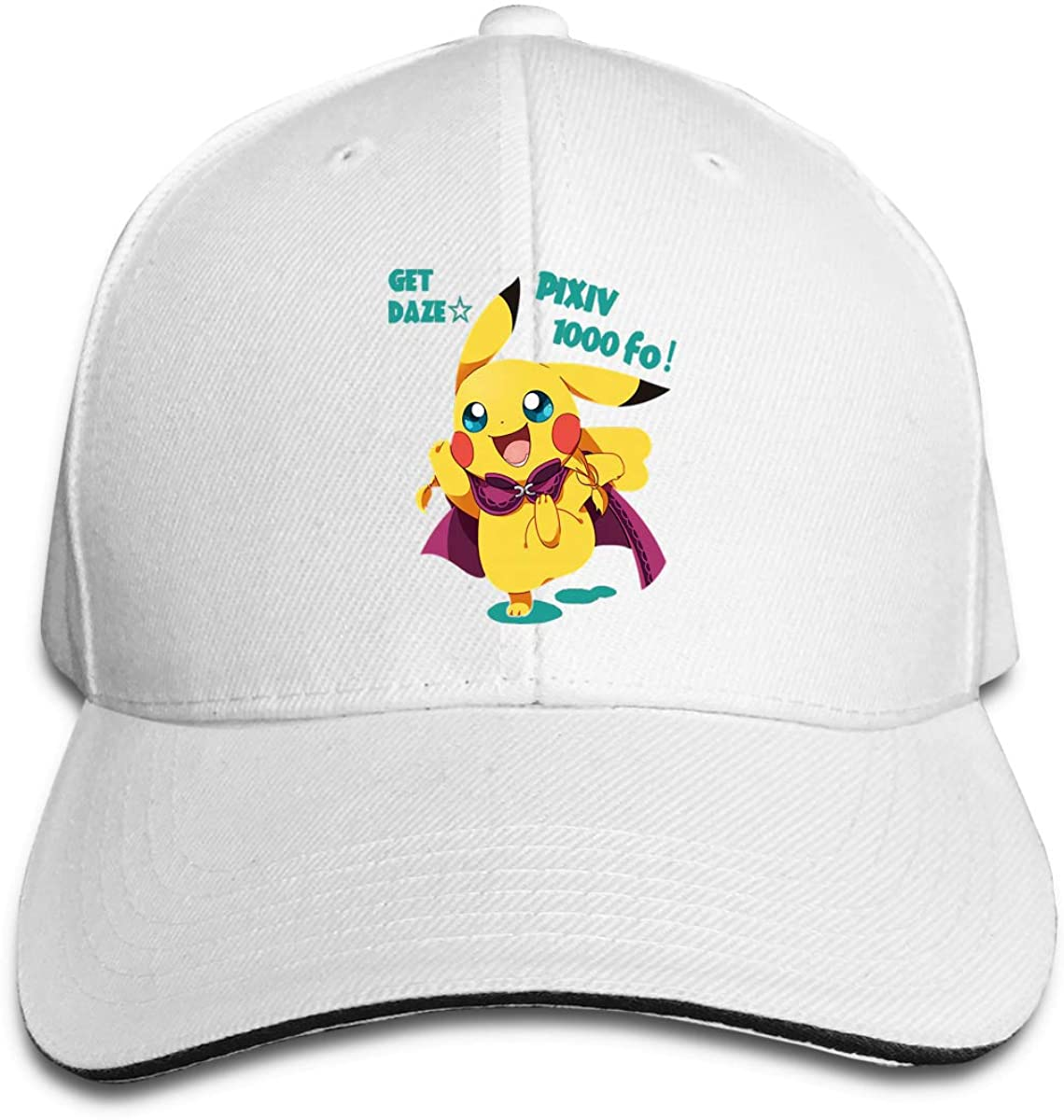 Pikachu Breathable Sunscreen Sunshade Casual All-Match Hat