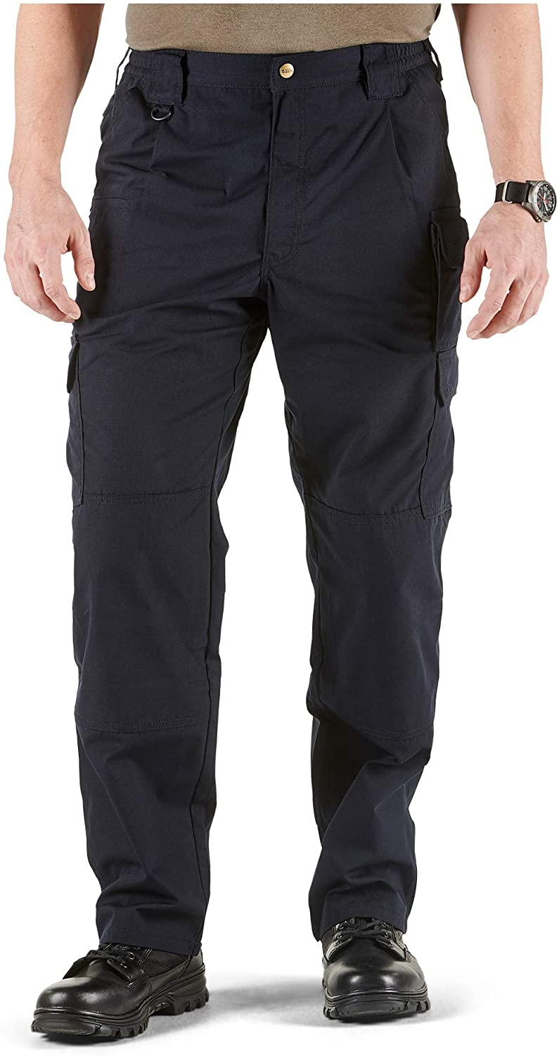 5.11 Men's Taclite Pro Tactical Pants, Style 74273, Dark Navy, 36Wx30L