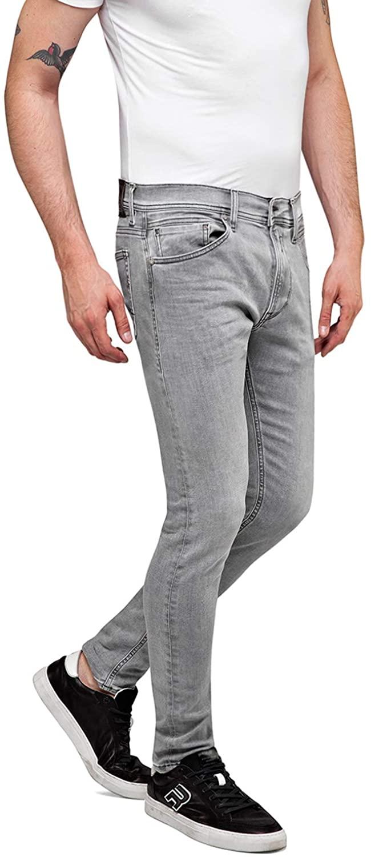 Replay Men's Power Stretch Denim Jeans Light