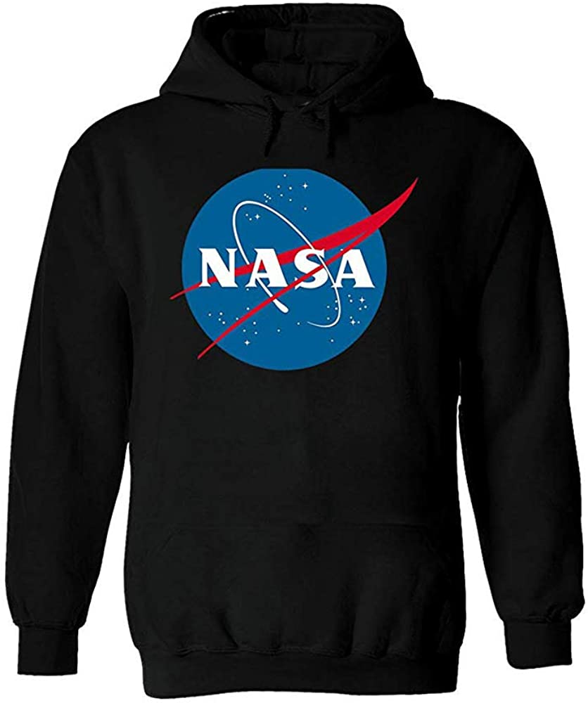 NASA National Space Administration Logo Men Women Unisex Hooded Sweatshirt Hoodie