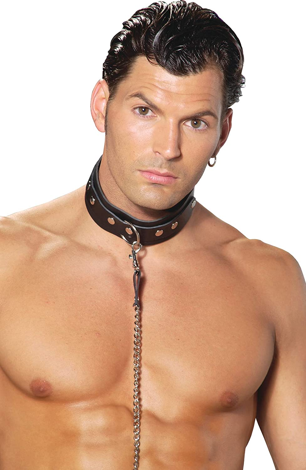 Leather Collar in Black