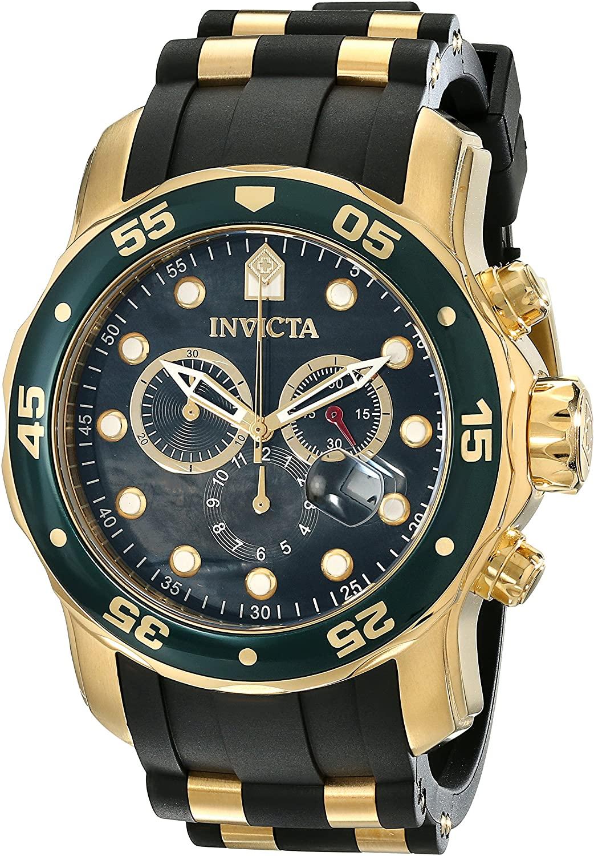 Invicta Men's 17883 Pro Diver Analog Display Swiss Quartz Black Watch