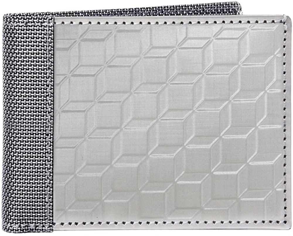 Stewart/Stand RFID Blocking Slim Minimalist Stainless Steel Secure Billfold Wallet for Men