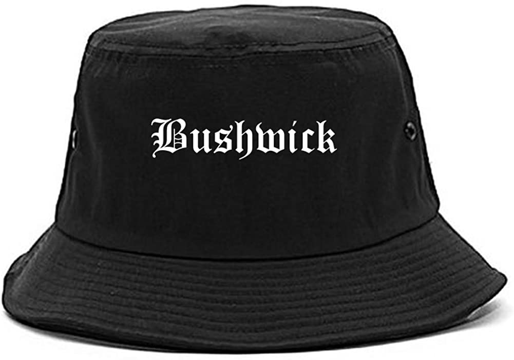 Kings Of NY Bushwick City New York NY Goth Bucket Hat