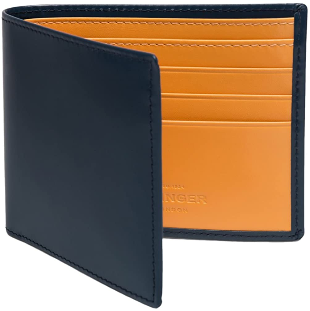 Ettinger Men's Bridle Hide Billfold Wallet with 6 Credit Card Slips