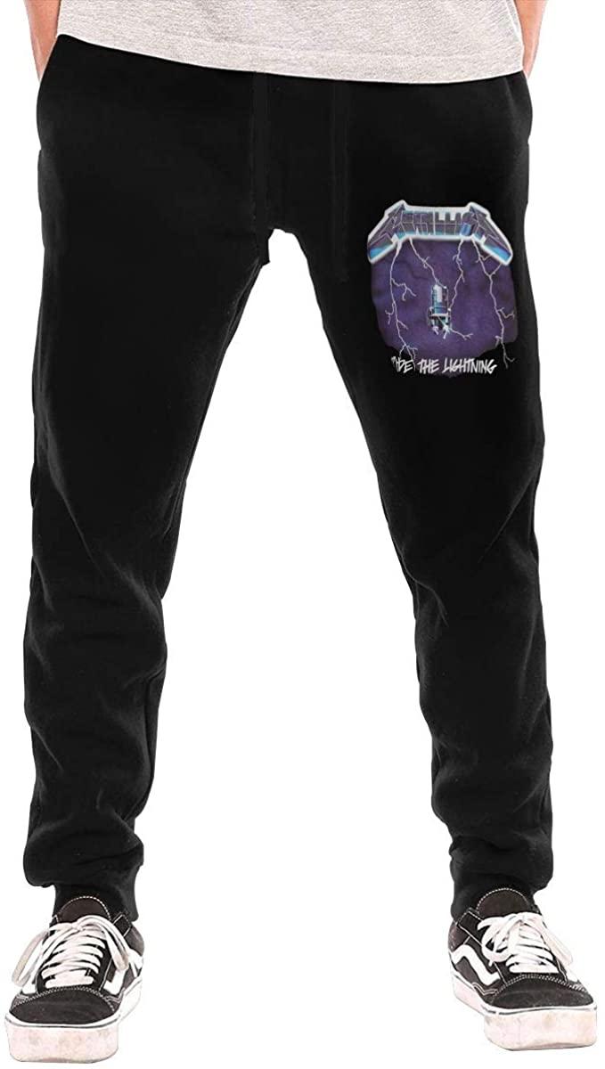 Good Friend123 Men's Metallica3 Casual Pants Sweatpants Jogging Pants