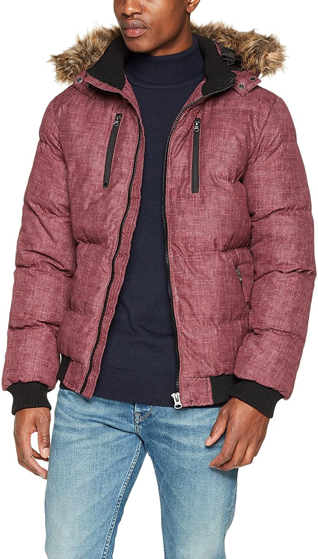 Urban Classics Men Winter Jacket Melange Expedition Bubble