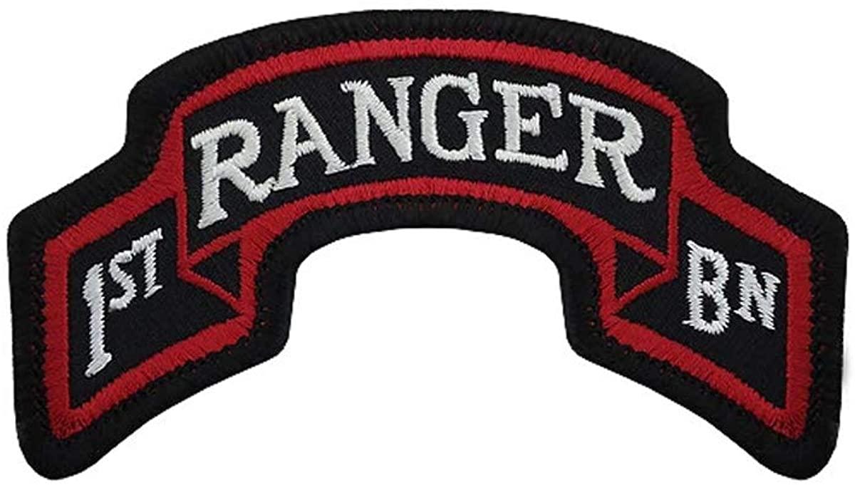 75th Ranger Regiment 1st Battalion Color Scroll Patch (1st Bn)