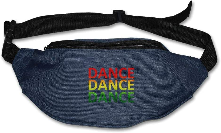 Fanny Bag Ratsa Dance Unisex Fashion Waist Pack Bag with Adjustable Strap