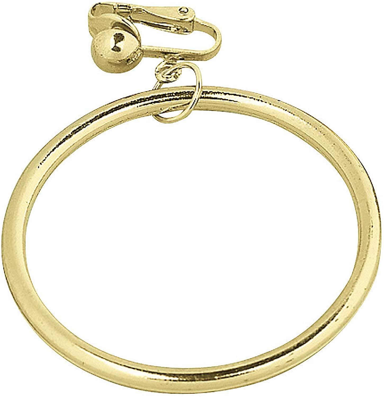 Fun Express - Pirate Earring - Apparel Accessories - Costume Accessories - Bulk Accessories - 12 Pieces