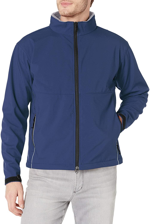 Clique Men's Clique Softshell Full-Zip Jacket, Dark Navy, XX-Large