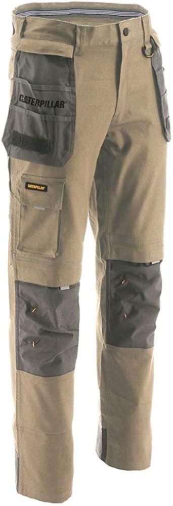 Caterpillar Men's Big-Tall H2O Defender Trouser Pants, Dark Sand-Graphite, 44/30