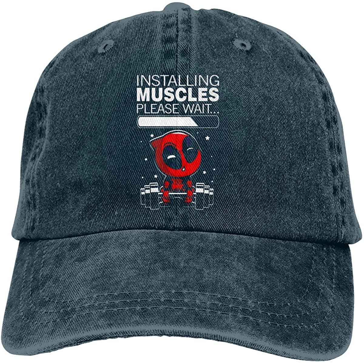 Vintage Adjustable Jean Cap Gym Caps for Adult