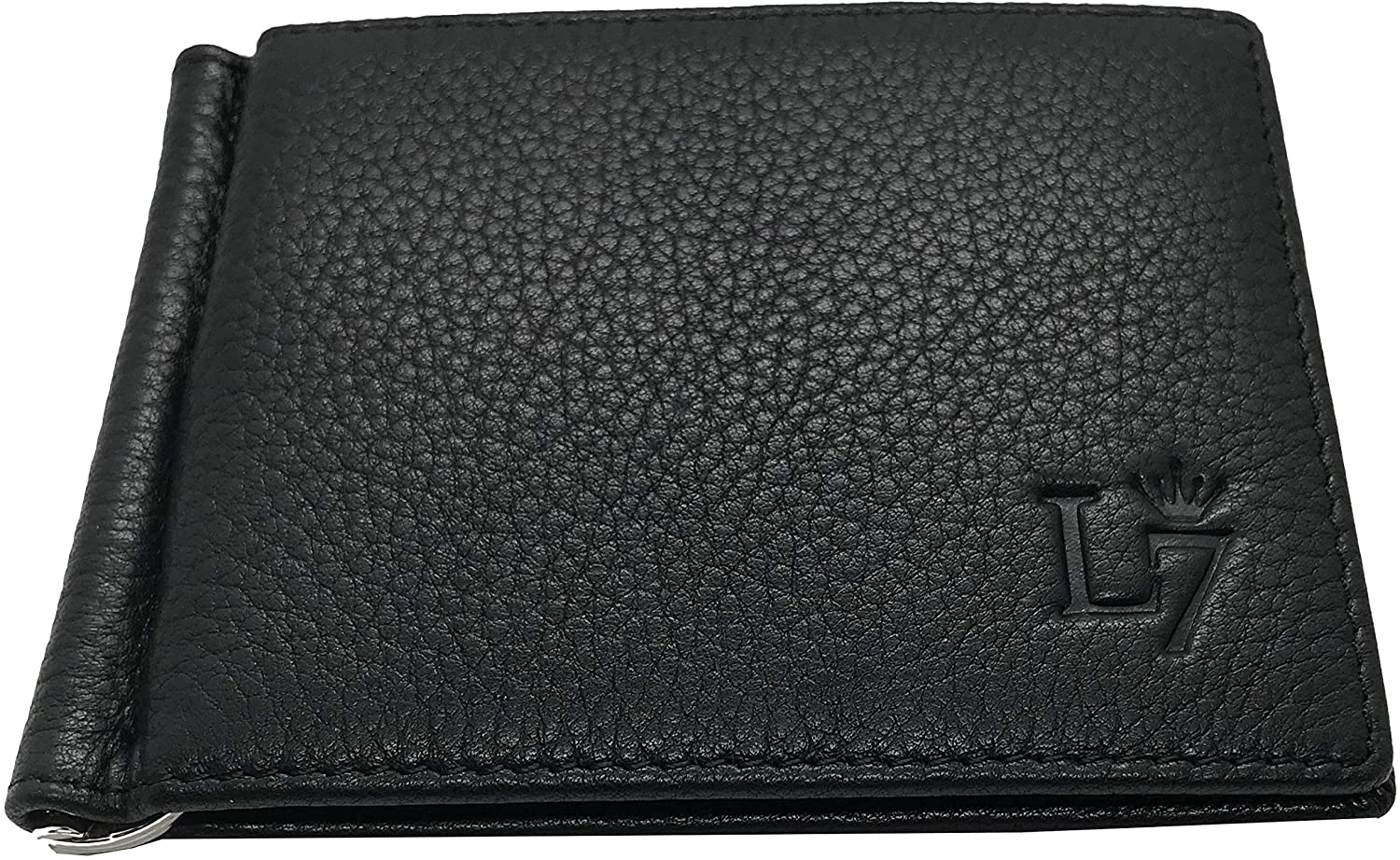 Luxe 7 Wallet 'Luxe Collection SSD' RFID Money Clip Wallets for Men - Classic Mens Wallet With Coin Pocket-Coin Pouch Luxe Wallet (Jetsetter Black)