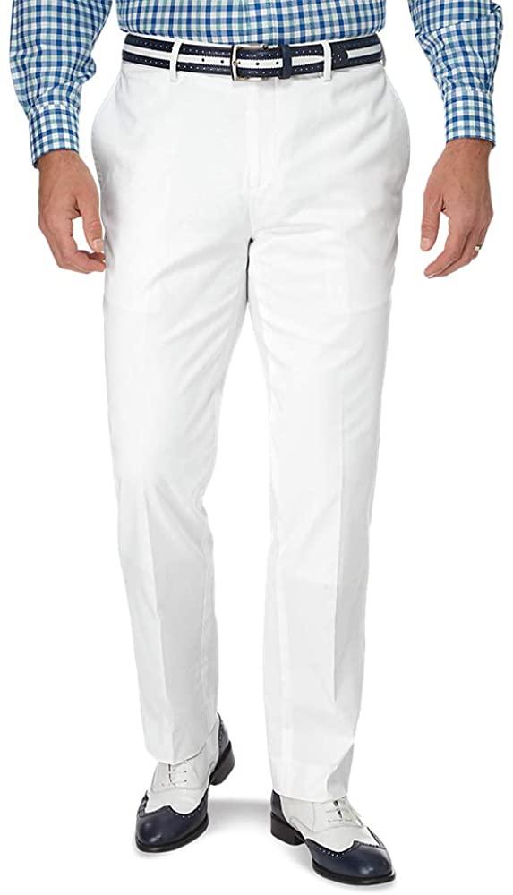Paul Fredrick Mens Classic Fit Cotton Pincord Pleated Suit Pant