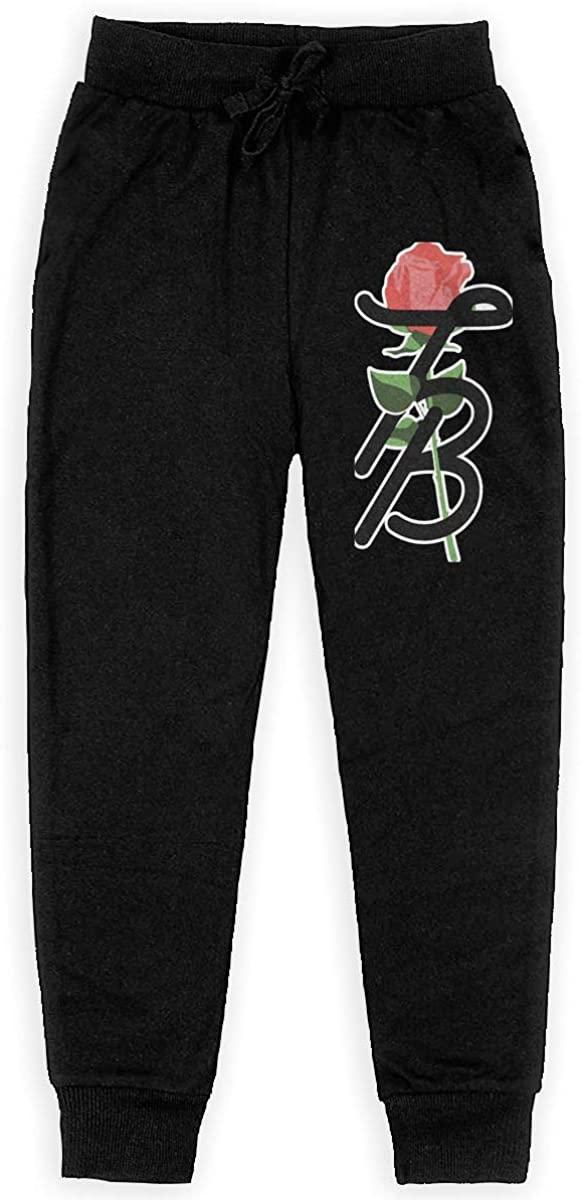 Girls Tessa Brooks Logo Jogger Sweatpants Youth Joggers Sport Training Pants