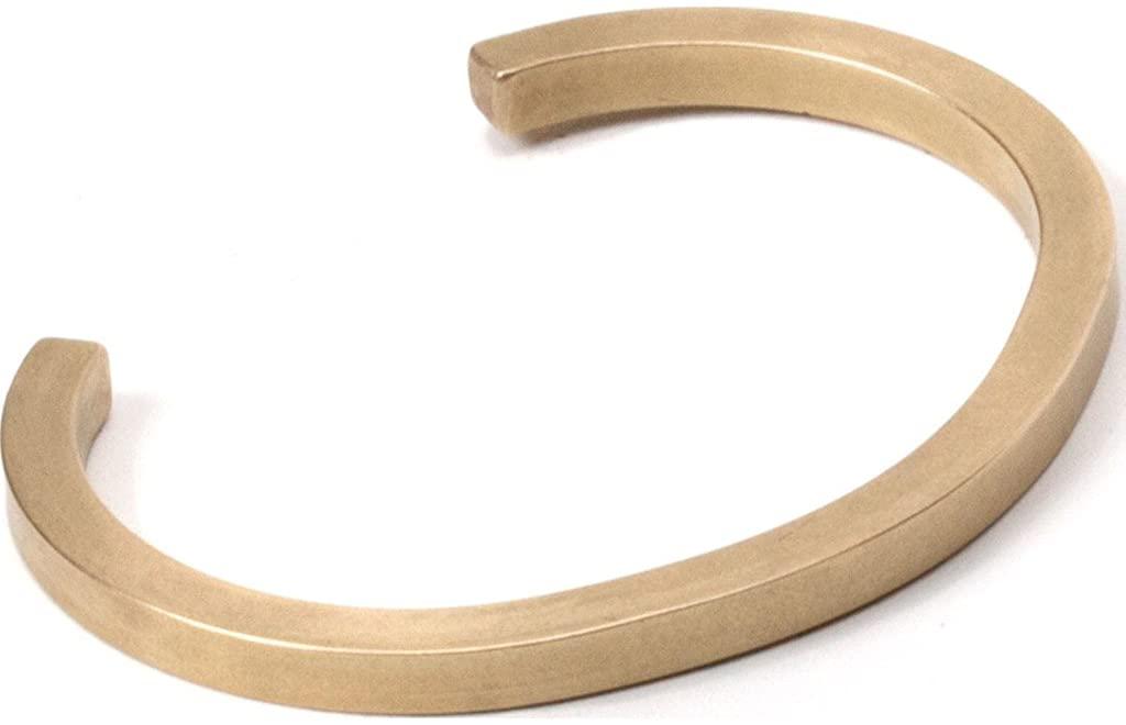 Craighill Uniform Square Cuff | Brass - Large