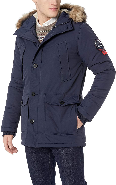 Superdry Mens Everest Parka Jacket