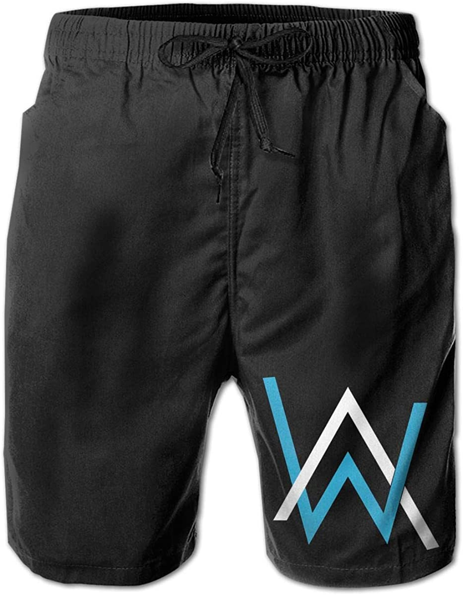 Hangquq Men'Salan Walker Slim Quick-Drying Swimming Shorts Swimming Trunks Men's Swimwear.