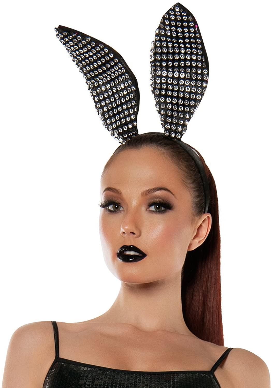 Starline Women's Sparkle Bunny Ears Headband Accessory