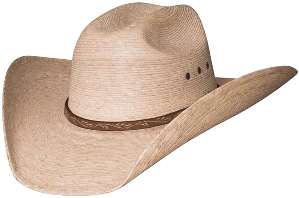 Montecarlo / Bullhide Hats - JASON - 10X Palm Leaf Straw Western Cowboy Hat (7-1/2)