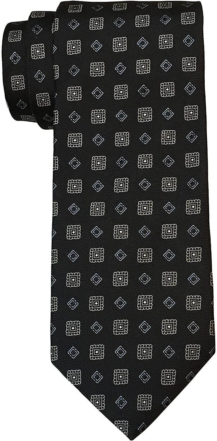 Brooks Brothers Makers and Merchants Black Medallion Luxury Tie