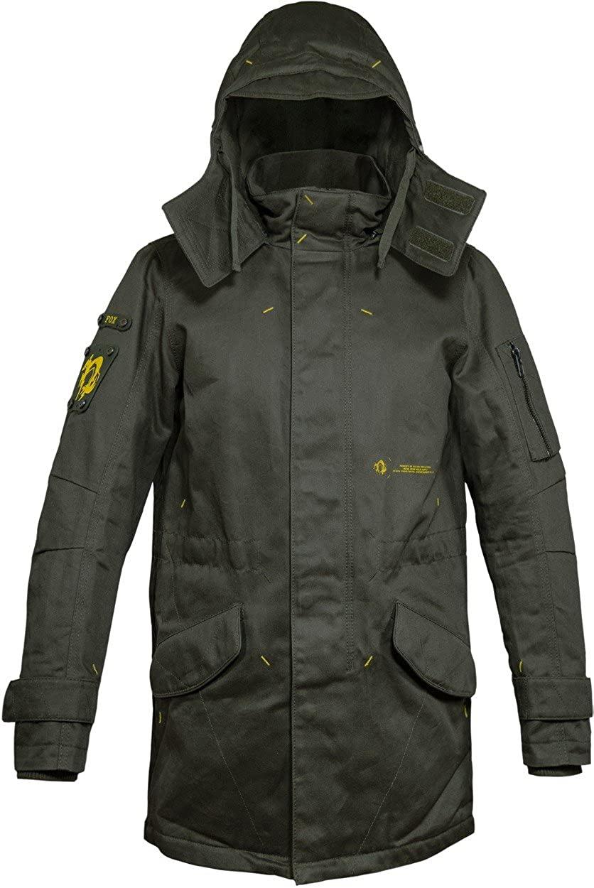 Musterbrand Metal Gear Solid Men Long Winter Jacket Scout Green