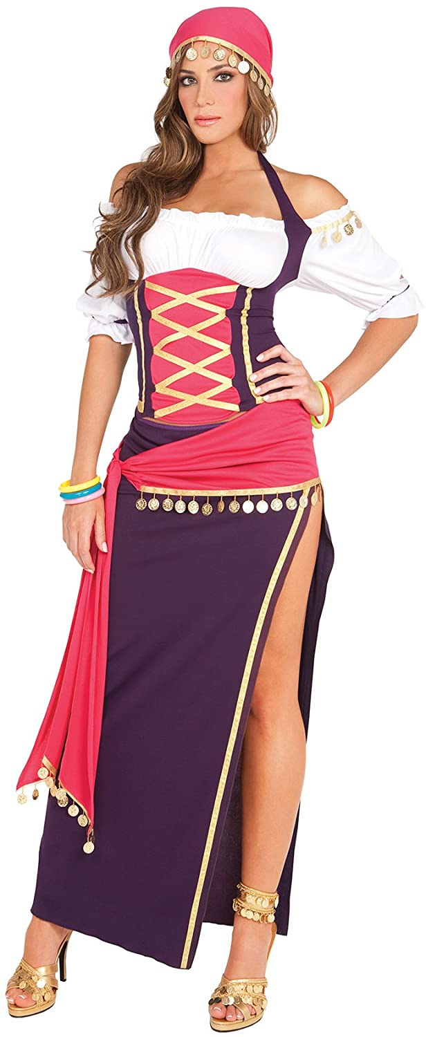 Hot Spot Women's Sexy Exotic Gypsy Adult Role Play Costume