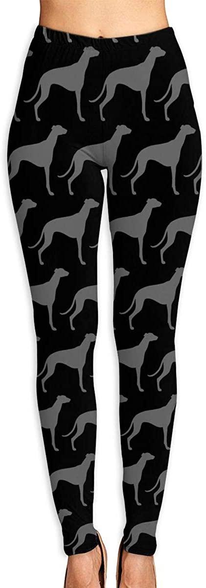 Greyhound_Silhouettes Gym Leggings Yoga Pants Sweatpants