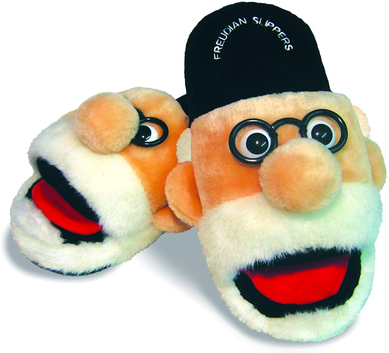 Freudian Slippers - Comfy Plush Slip-On Footwear