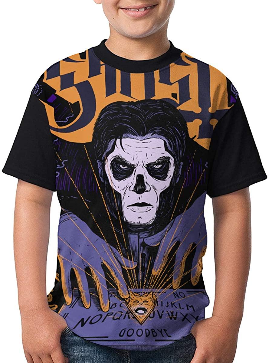 Youth Ghost Teenage Teens Custom T-Shirt, Fashion Funny Shirt for Boys and Girls