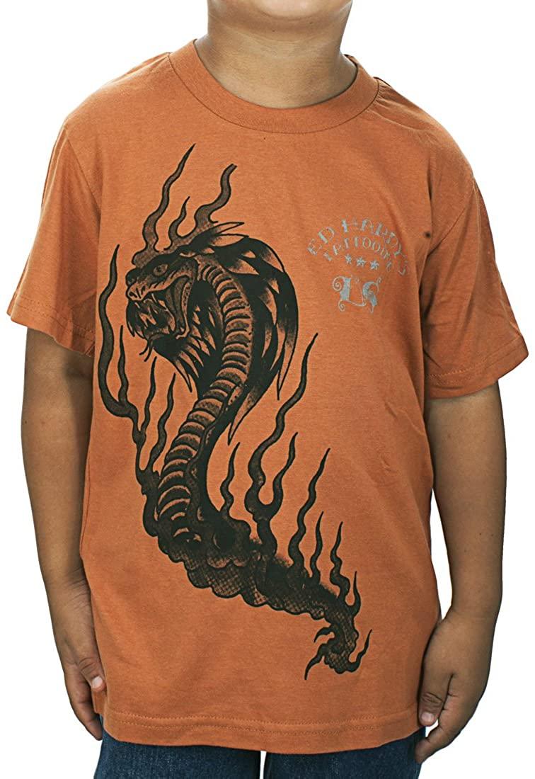 Ed Hardy Toddlers Cobra T-Shirt - Tan