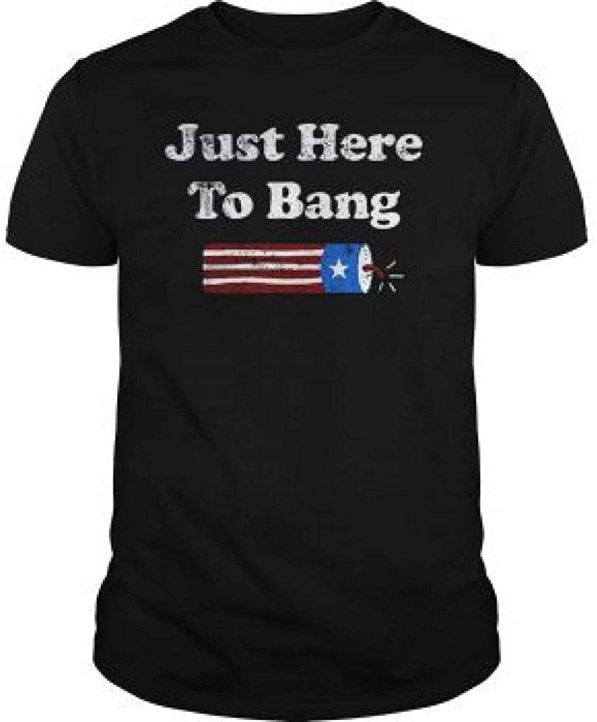 Latana Just-Here-to-Bang-Funny-Fireworks-4th-of-July-Pun-Meme-Joke-T-Shirt-Tee-Tank-Top-Quotes
