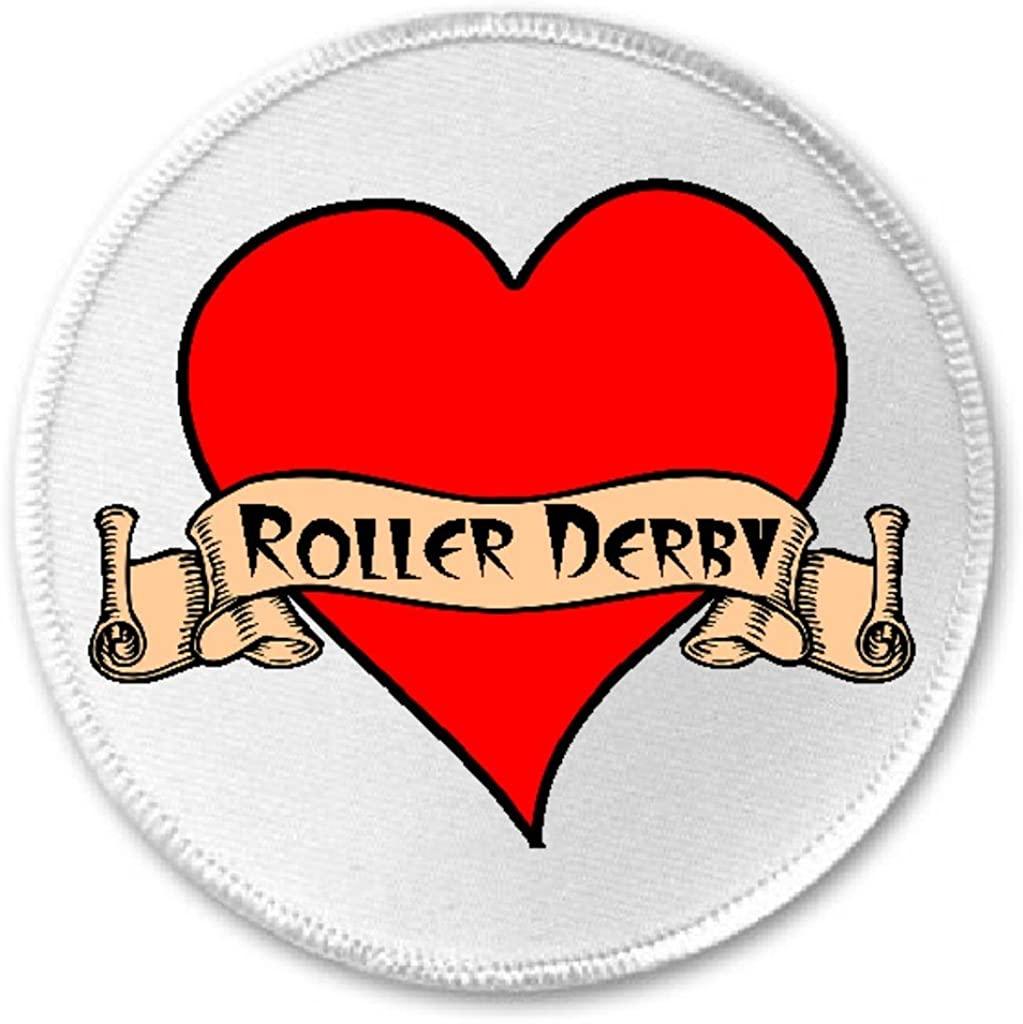 Roller Derby Tattoo Heart - 3