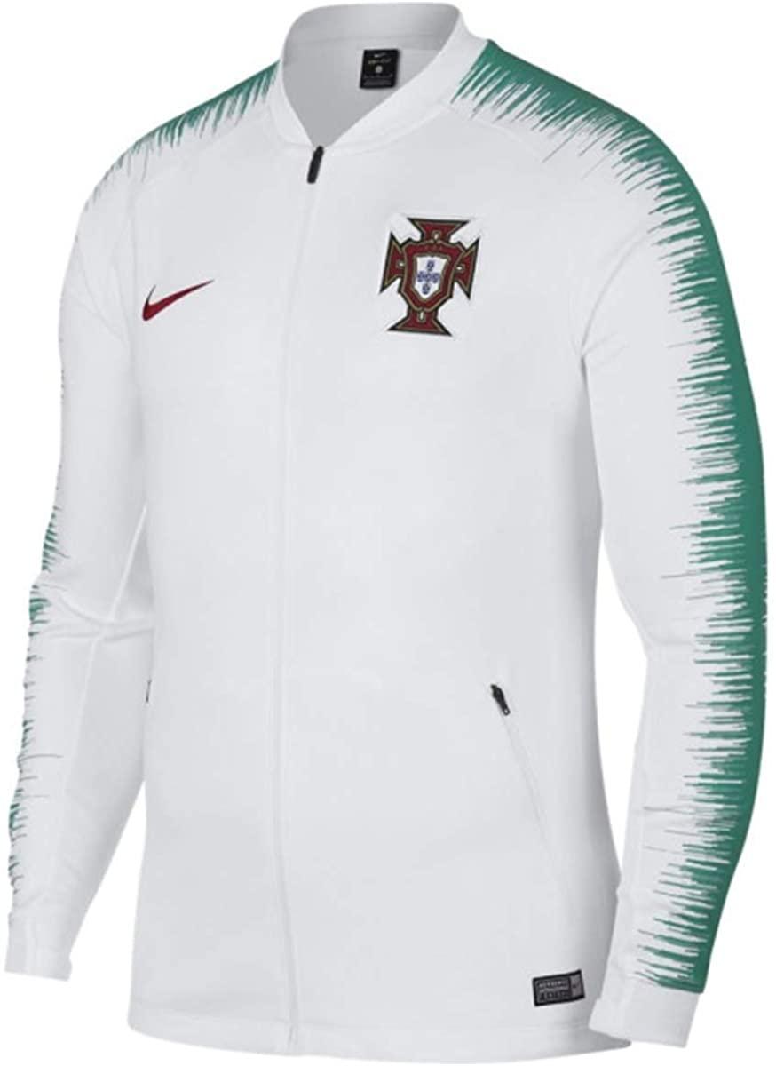 Men's 2018/19 Portugal National Team Anthem Jacket 893593-102 White