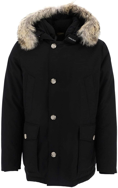 Woolrich Luxury Fashion Man WOCPS2896UT0001BLK Black Polyamide Outerwear Jacket | Fall Winter 19