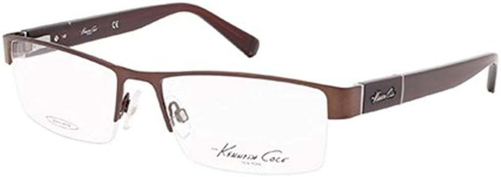 Eyeglasses Kenneth Cole New York KC 217 KC0217 049 matte dark brown