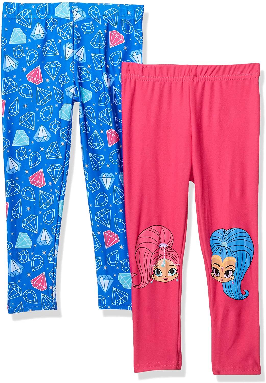 Nickelodeon Girls Shimmer and Shine 2 Pack Legging Set