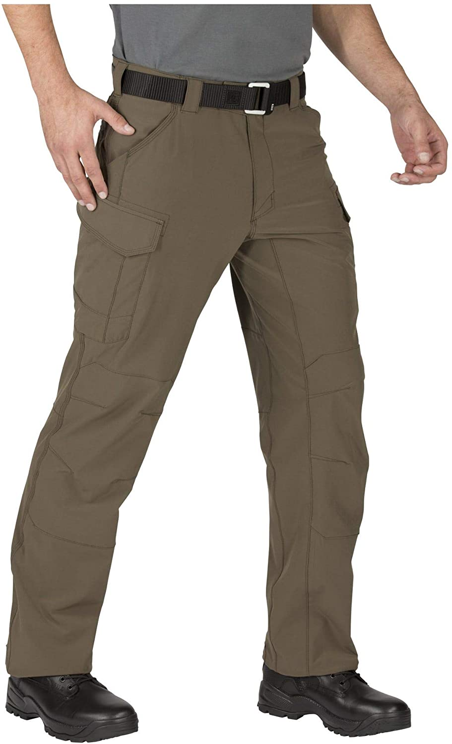 5.11 Mens Traverse 2.0 Lightweight Water-Repellent Tactical Stretch Pant, Tundra, 28W x 34L