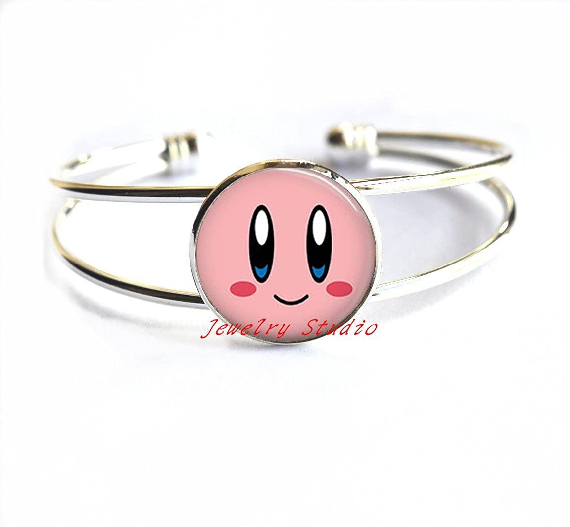 Charming fashion moon Bracelet,Smile Face Bracelets Bracelet ,Smile Face Bracelet, Smiley Bracelet, Kids Bracelet, Small Dangle Bracelet-HZ0093
