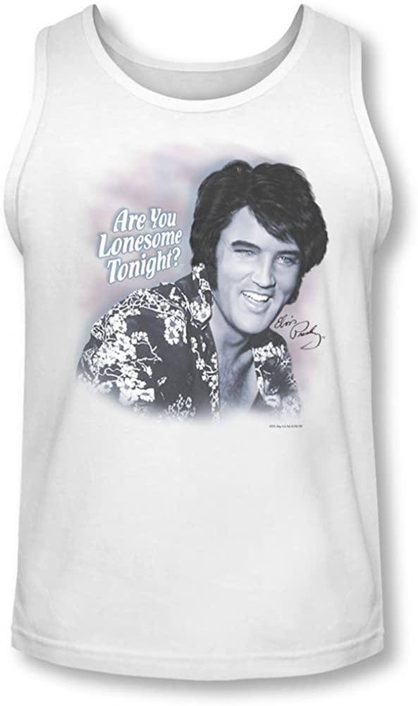 Elvis - Mens Lonesome Tonight Tank-Top