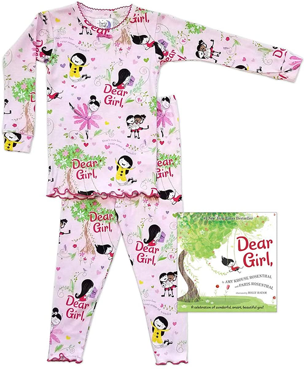 Books to Bed Dear Girl Pink Pajama Set