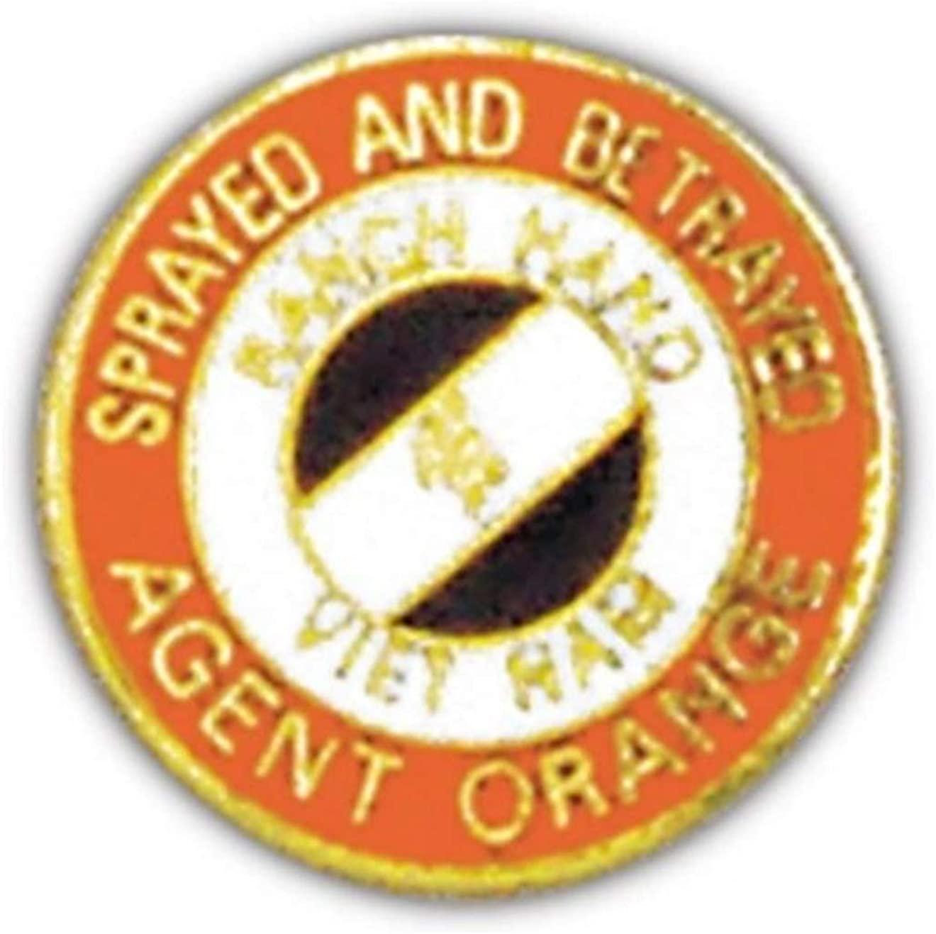 Agent Orange Small Pin
