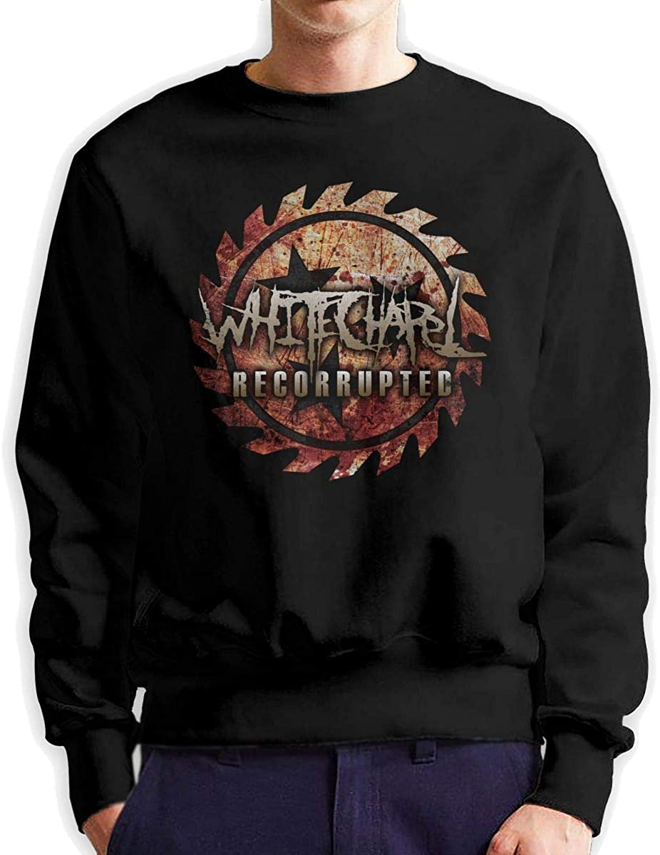 MatthewNiles Mans Whitechapel Recorrupted Gifts Round Neck Long Sleeve Sweatshirts