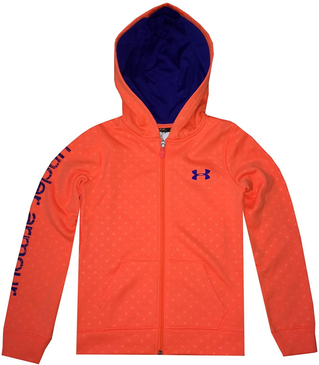 Under Armour Youth Girls Coldgear Fleece Full Zip Hoodie Jacket