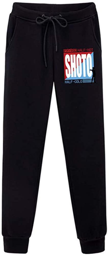 Gumstyle My Hero Academia Anime Sweatpants Joggers Elastic Waist Pants Cosplay Costume Sport Jersey Trousers