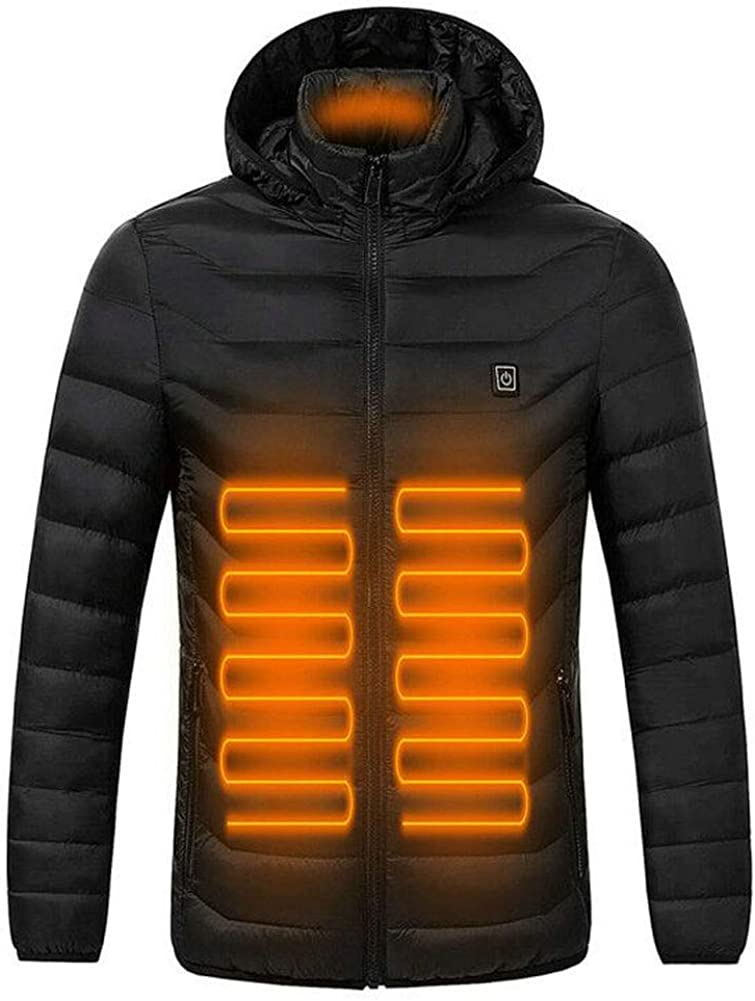 ANTARCTICA Upgraded Lightweight Electric Heated Jacket Heating Waistcoat Down Jacket Coat (Power Bank NOT Included)